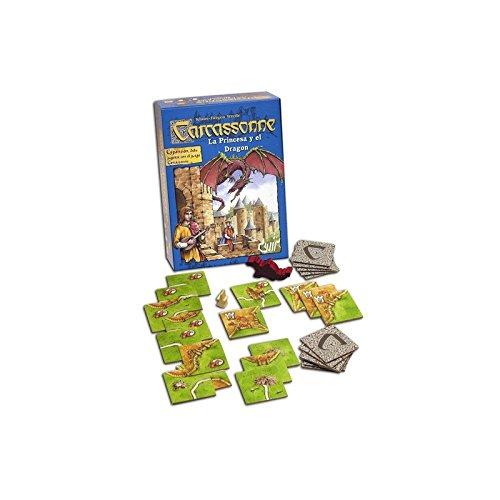 Carcassonne - La princesa y el dragón (Devir BGCARPRI)