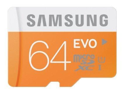 Samsung microSDXC 64GB Class 10 UHS-I Memory Card 48 MB/s