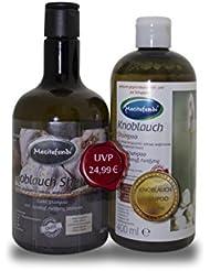 Mecitefendi Knoblauch Shampoo 2x400ml - im Vorteilspack und in neuem Design-
