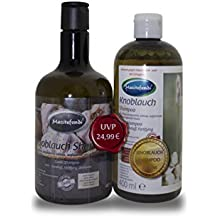 Champú de ajo de Mecitefendi, 2 unidades de 400 ml, en paquete ahorro