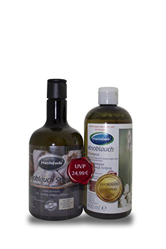 Shampooing à l'ail Mecitefendi - 2 x 400 ml