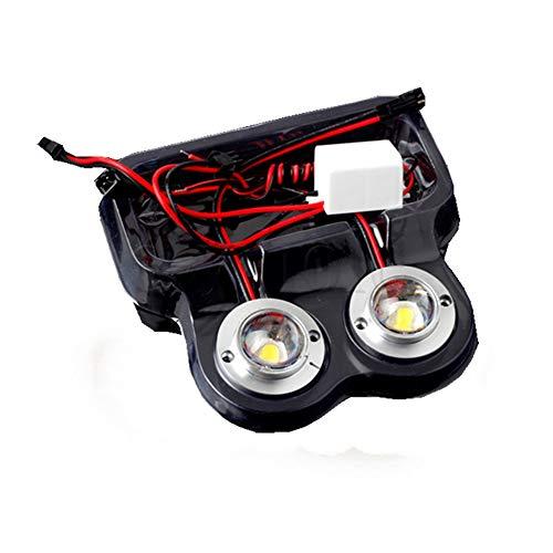 Car Truck 2 LED Round Strobe Flash Emergency Driving White 12V 5W Light
