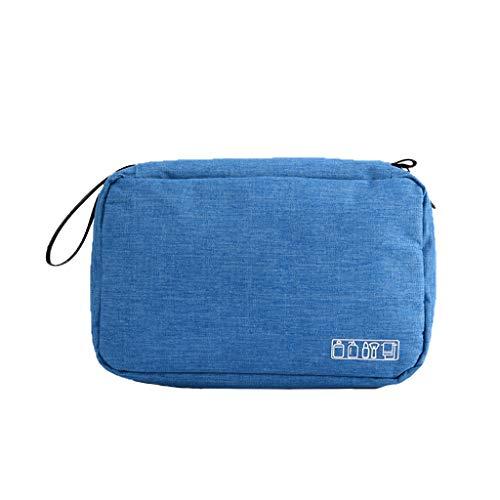 Zzqyis Reise-Kulturtasche zum Aufhängen, für Damen und Herren, Make-up-Tasche, Kosmetiktasche, Badezimmer und Dusche 6 Einheitsgröße