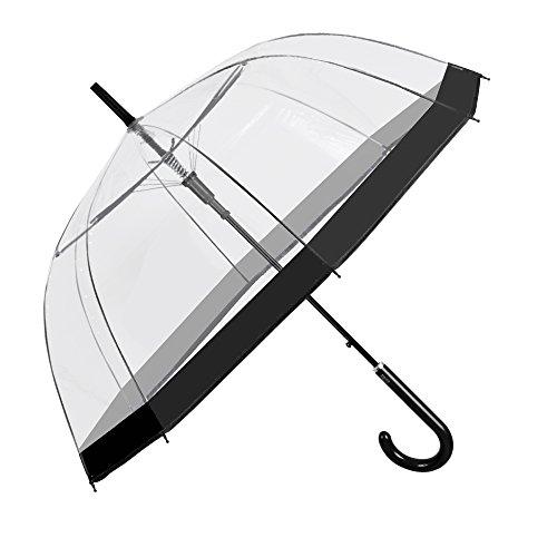 Perletti 26019 - Paraguas Transparente Mujer