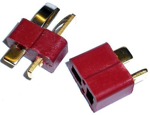 8035 RC Ulltra T-Plug Set Male / Female Connector OLD x 1 Pair