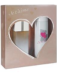 JE T'AIME A La Folie Coffret Eau de Toilette + Déodorant pour Femme 250 ml