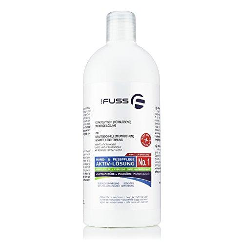 Mr. Fuss Lösung No. 1 - 500 ml, -stark erweichend- Hornhautentferner