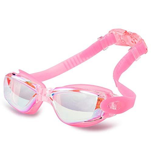 Wasserdichte Anti-Fog-Schutzbrillen von Hd arbeiten Überzug-bunte Schwimmen-Gläser für Männer und Frauen-Schwimmen-Schutzbrillen um