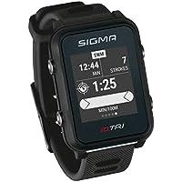 iD.TRI GPS Triathlon-Uhr mit Trainings- und Wettkampffeatures, Navigation, Smart Notifications, leicht und wasserdicht, inkl. Fahrradhalterung