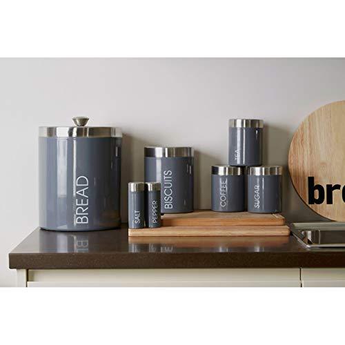 Premier Housewares Daisy Chain Becher, verzinkter Stahl, pulverbeschichtet, 350ml Daisy Storage Jar