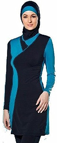 5726cd0f508 YEESAM Muslim Swimwear for Women Girls Modest Islamic Hijab Burkini  Swimsuits