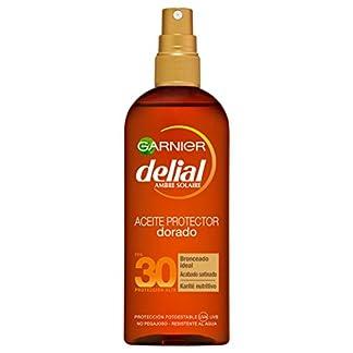 Garnier Delial – Aceite Protector Dorado Sublime FPS30