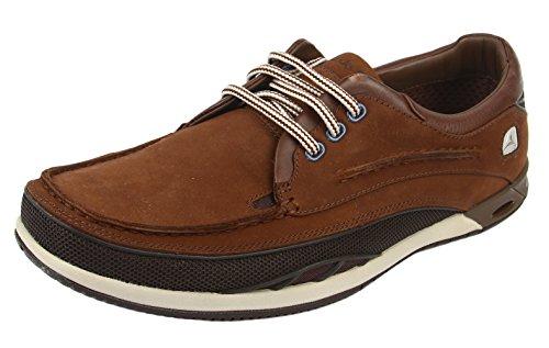 Clarks 20353239, Boots homme Marron (Dark Brown Lea)