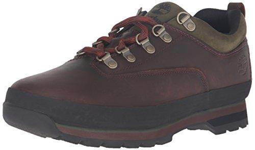 Timberland Herren Euro Hiker Low Schuhe mit Schnürung, Marron (Gaucho), 46 EU (Low Hiker Schuhe)