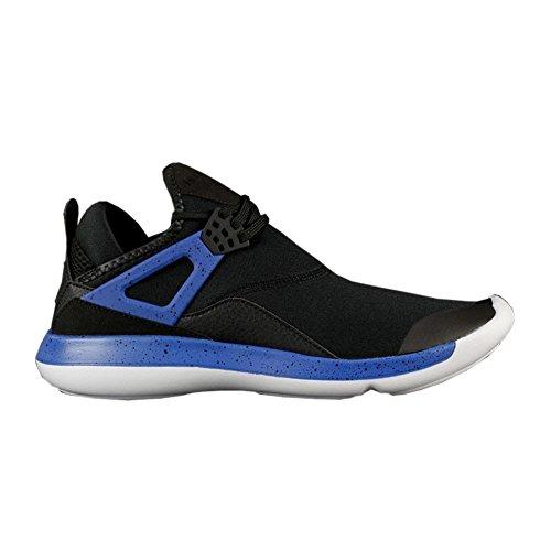 Nike Air Jordan Fly ´89 Basketballschuhe Sneaker Schwarz/Blau/Weiss, Schuhgröße:EUR 45 - Basketball-schuhe Nike Herren Flight