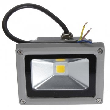 10W LED blanc chaud Lumière crue 110-220 extérieure étanche