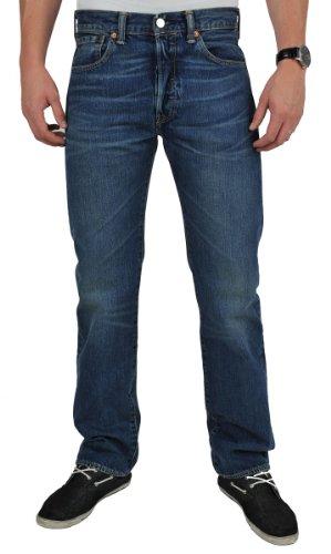 Levi's Herren Jeans 501 Blau (Indigo Fig)