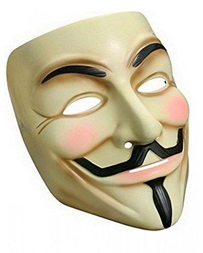 Maske V for Vendetta Anonymus Guy Fawkes Mask ()