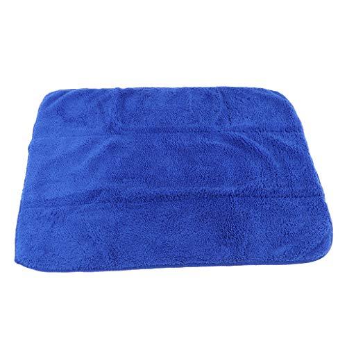 Baoblaze Eiskunstlauf Zubehör Schlittschuhe Tuch Handtücher Reinigungstuch zum Putzen und Reinigen - Blau