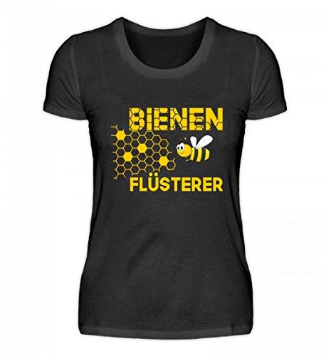 Hochwertiges Damen Organic Shirt - Imker - Der Bienenflüsterer Schwarz