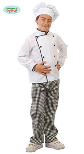Koch - Kostüm für Kinder Gr. 110 - 146, (Ofen Kostüm)