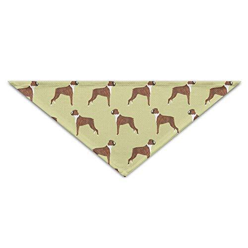 Gxdchfj Boxer Dogs Baby Pet Dog Scarves Puppy Triangle Bandana Bibs Triangle Head Scarfs Accessories (Boxer Dog Kostüm)