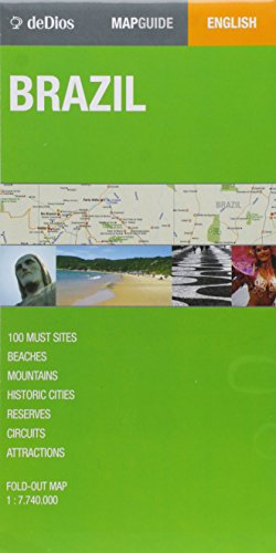 Brasil/ Brazil (Map Guide) por Julian De Dios