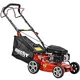 HECHT Benzin Rasenmäher 2,7 kW / 3,5 PS Motorleistung Radantrieb 40,6 cm Schnittbreite 7-fach Schnitthöhenverstellung Radantrieb Lieferung inkl. Motoröl