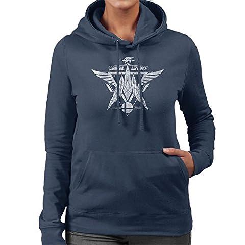 Star Fox Squadron Corneria Air Force Women's Hooded Sweatshirt