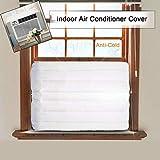 Gaddrt Klimaanlage Abdeckung der Klimaanlage Fenster-Innenklimaanlagenabdeckung für Inneneinheit der Klimaanlage (B 53x35x7cm)