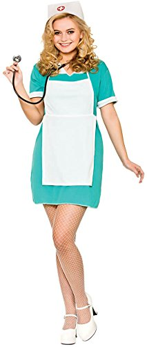 Ladies E.R Nurse Fancy Dress Costume (Nurse Fancy Dress Kostüm)