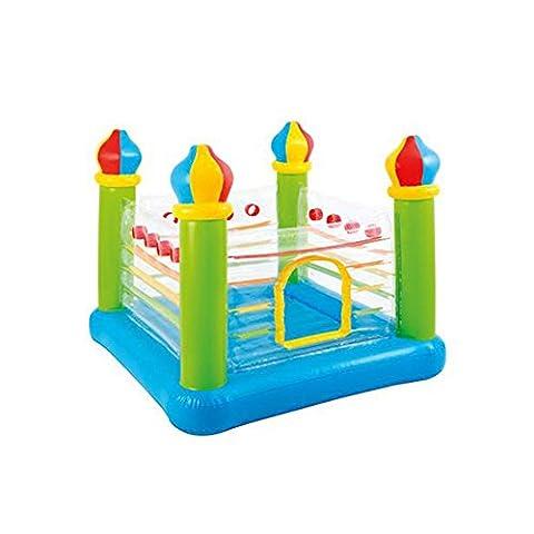 Intex 2 Children Capacity Non Toxic Vinyl Bouncy Castle Inflatable