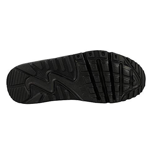 Nike Air Max 90 Mesh GS, Scarpe da Ginnastica Bambino Noir