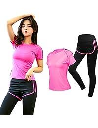 Running Tute da donna 2Pcs Multicolor Opzionali Donna Tuta Felpa Pantaloni  Sets 8bc9b0e69e0