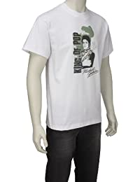 Vitamin Tee Men's Michael Jackson King of Pop White Glove T-Shirt