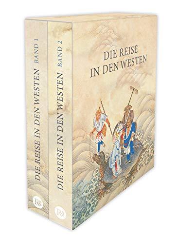 Die Reise in den Westen. Ein klassischer chinesischer Roman: Zwei Bände im offenen Schuber. Mit 100 Holzschnitten nach alten Ausgaben
