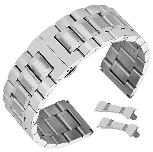 Splitter Edelstahl-Uhrenarmband für Mens eximious Uhrenarmband 23mm (Leder-bereitstellung Uhrenarmbänder)
