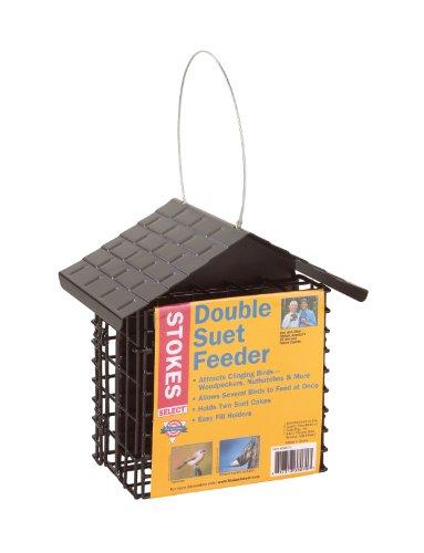 Stokes Select Double Suet Futterhaus mit Metall Dach, zwei Talg Kapazität
