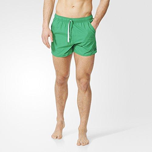 Adidas 3Sa Short Vsl Pantalón Corto, Hombre, Verde/Blanco, S