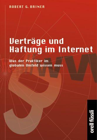 Verträge und Haftung im Internet.
