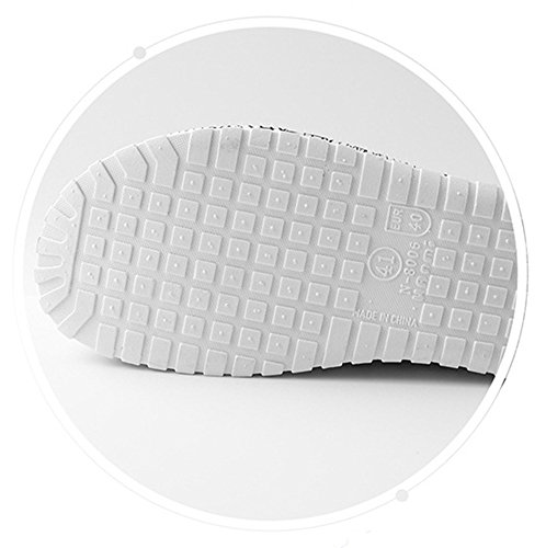 VWU Unisex Herren Damen Sommer Outdoor Breathable Mesh Backless Schuhe Strand Aqua Clogs Pantoletten Anti Rutsch Slip On Hausschuhe Beach Sandals Schwarz Weiß