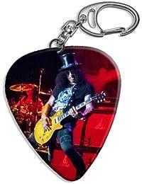 a0e93d679359 Slash (WK) Big Live Performance Guitare Mediator Pick Porte-cles Keyring