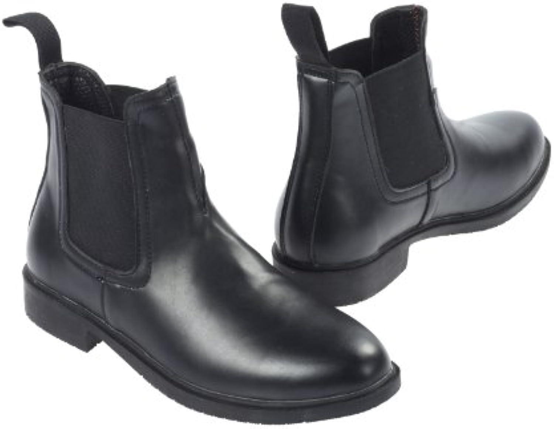 JUST JUST JUST TOGS Stivali Essentials Jodhpur, nero (nero), Dimensione 4 | Abbiamo ricevuto lodi dai nostri clienti.  | Gentiluomo/Signora Scarpa  3d8792