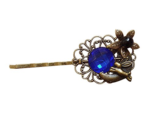 Set Of 3 Style Rétro National Wind Hairpin / Accessoires Cheveux(Bleu)