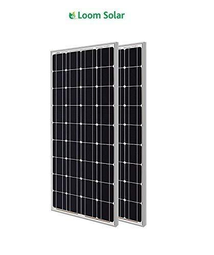 Loom Solar 180 Watt Mono Crystalline Panel (Pack of 2)
