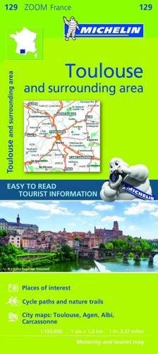 Toulouse & surrounding areas - Zoom Map 129