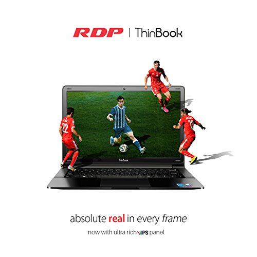 "RDP ThinBook 1130-ECW (Intel Quad Core 1.92 GHz Processor/2GB RAM/500GB Storage/Windows 10/10.5 Hours Battery Backup) 11.6"" HD IPS Panel"