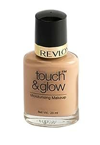 Revlon Touch and Glow Moisturising Makeup, Ivory Mist (20ml)