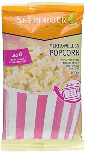 Seeberger Mikrowellen-Popcorn süß, 100 g Packung