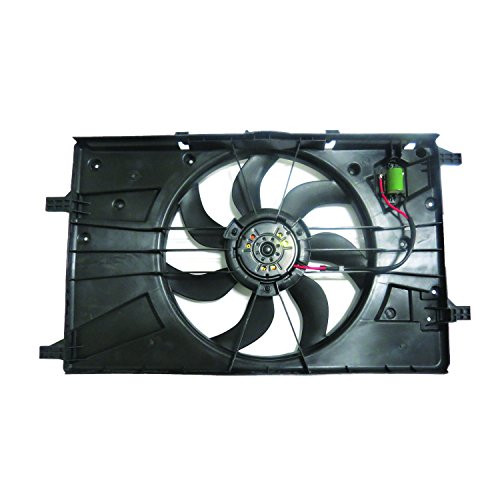 TYC Products 623270 Dual Radiator and Condenser Fan Assembly